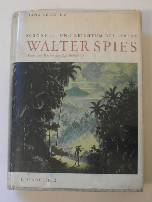 Hans Rhodius schreef een standaardwerk over de op Bali levende kunstschilder Walter Spies (1895-1942).