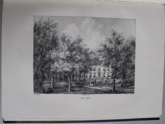 Hofstede de Rijp nabij Sparrenheuvel gelegen en ook eigendom van W.H.Backer (P.J.Lutgers)