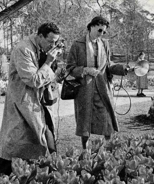 Ook overdag werd er geflitst tijdens de Flora van 1953 (Ruud van der Molen)
