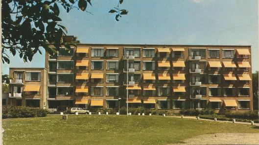 Voorzijde tehuis Kennemerduin bij het 2-jarig bestaan in 1985.