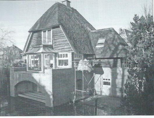 Verbouwing van door architect Meuleman ontworpen villa aan de Mesdaglaan in  Heemstede