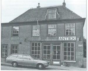 Foto van 'Weg- en Landzicht' vanuit de Koediefslaan omstreeks 1980.