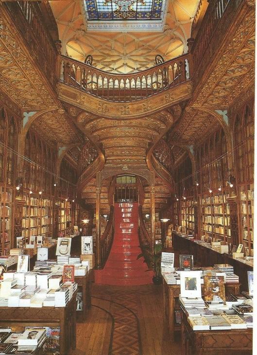 Boekhandel Lello & Imao bookshop, Porto, Lissabon
