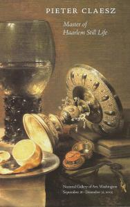 Voorzijde folder Pieter Claesz tentoonstelling in National Gallery of Art, Washington
