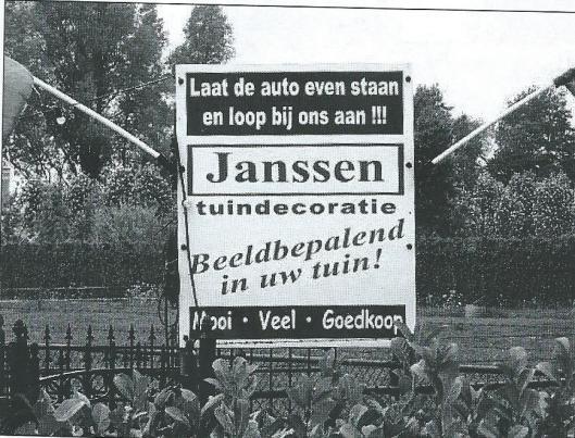 Janssen tuindecoratie (CuBra)
