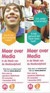 Meer over Media. Bibliothekenactie 2010