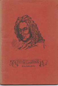 Vooromslag van catalogus 1960-1961 van Gerard Nielen's Toneelfonds 'Pieter Langendijk', Hasselaerplein 35, Haarlem. 64 p.