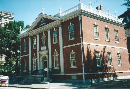 Hans Krol voor de Library Company in Philadelphia