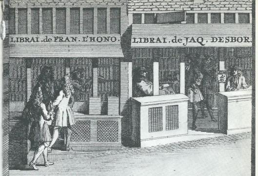 Franse boekhandels gevestigd bij de Amsterdamse beurs