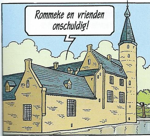 Nog een afbeelding uit het 2014 verschenen album 'De zwarte tulp' uit de Suske en Wiske albums van Willy Vandersteen.