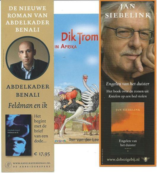 V.l.n.r. Abdelkader Benali / Dik Trom (Kluitman) / Jan Siebelink