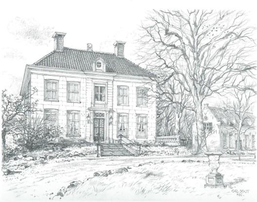 Ipenrode; door Chris Schut, 1990 [Uit: Gezichten in Zuid-Kennemerland. Alphen aan den Rijn, Canaletto, 1991]