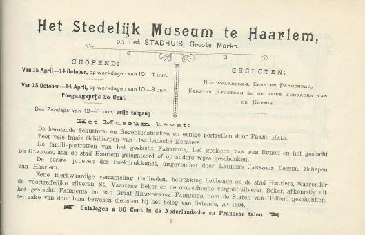 Stedelijk Museum Haarlem