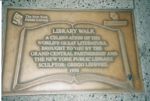 Library walk van NYPL naar Library Hotel