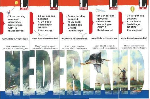 Puzzelbladwijzers van Libris (Veenendaal)