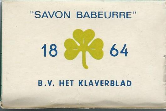 'Savon Babeurre' ofwel karnemelkzeep naar een procedé uit 1864