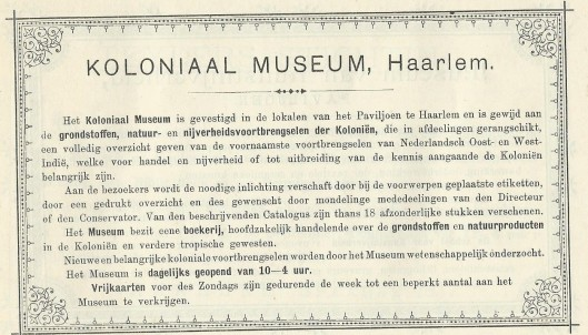 Koloniaal Museum Haarlem