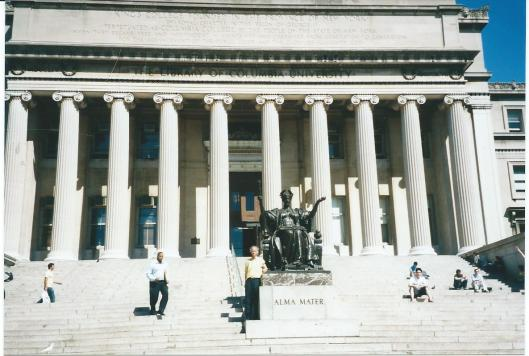 De voormalige Columbia University Library in New York