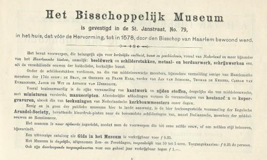 Bisschoppelijk Museum Haarlem