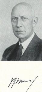 Portret J.J.Swens. uit Haerlem Jaarboek 1969.