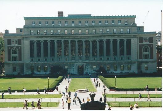 De Butler Library is tegenwoordige huisvesting van de Columbia University Library