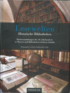 Vooromslag van het boekwerk 'Lesewelten; Hitorische Bibliotheken'.