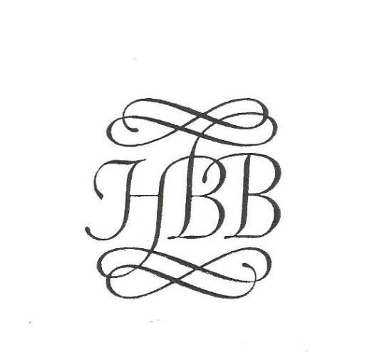 Vignet van het Bibliofiel en Grafisch Genootschap Het Beschreven Blad; door Pieter Wetselaar