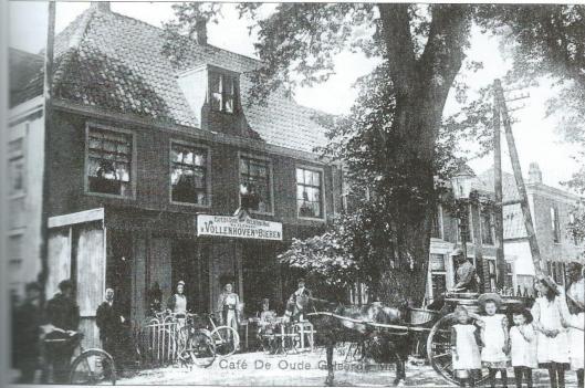 De Oude Geleerde Man in Bennebroek omstreeks 1910