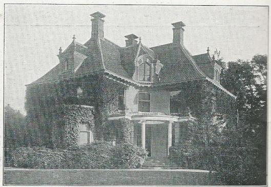Villa Zuiderhout, Zuiderhoutlaan Haarlem, eigenaar P.H.Kaars Sijpersteijn (uit: woninggids C.Kwak, 1930)