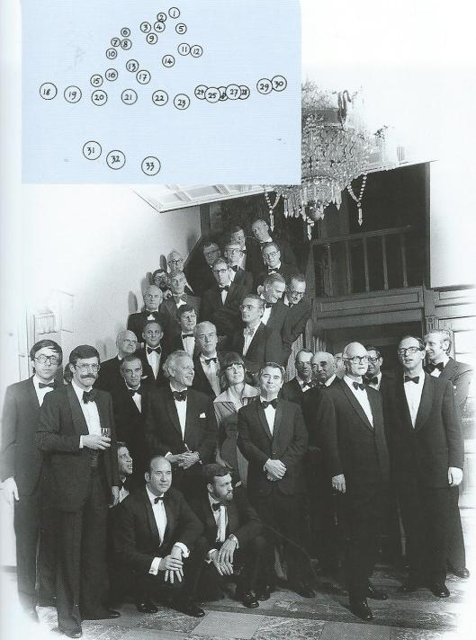 De medische staf van de Mariastichting Haarlem in 1976