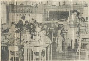 In 1926 is het Kleuterhuis aan de Lieven de Keylaan gebouwd als protestants-christelijke bewaarschool ofwel kleuterschool. Toen al modern met drie werklokalen en een speelzaal. In 1960 werd de school verbouwd en gemoderniseerd. In 1976 bij het halve eeuwfeest telde de school 61 leerlingen en werd toen al 32 jaar geleid door mejuffrouw L.C.van Gelder (op de krantenfoto van de Heemsteedse Courant van 6-5-1976 rechts). De andere leidster in 1976 was mevrouw Fekken-Fibbe.
