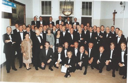 De medische staf in 1998 (foto genomen in de hal van de Mariastichting)