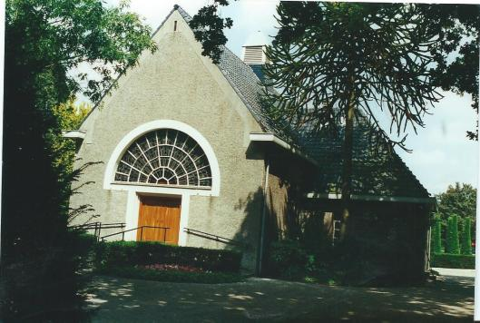 Aula van Algemene Begraafplaats Heemstede