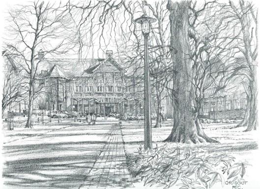 Sparenhout; door Chris Schut 1990