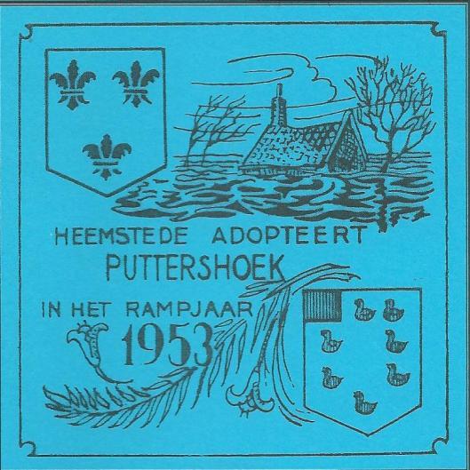 In januari 2003 gaf de gemeente Heemstede een brochure uit over de geschiedenis van de watersnoodramp in relatie tot de hulpverlening aan Puttershoek