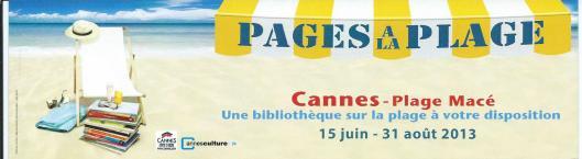 Strandbibliotheek Cannes