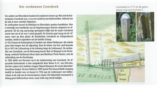 Croesbeek. Uit: Lezen in het duin. 2012, pagina 91.
