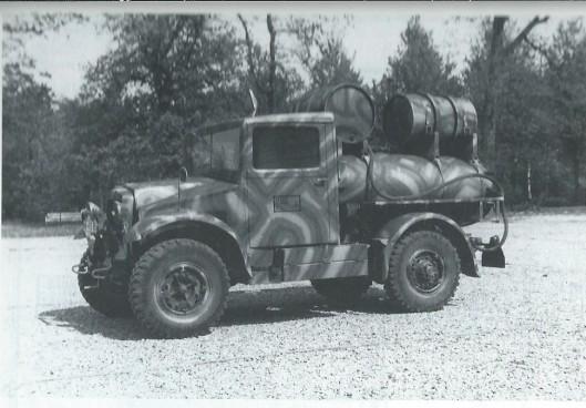 Tijdens de bezetting bevond het gebouw van Hageveld zich in een camouflage-tenue, na de bevrijding schoongemaakt