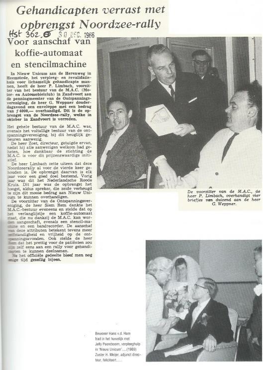 Pagina uit 'Tweeslag', dat in 1992 verscheen