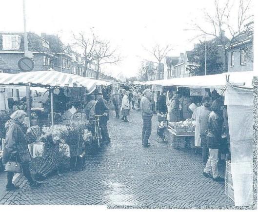 De woensdagse markt op de Valkenburgerlaan