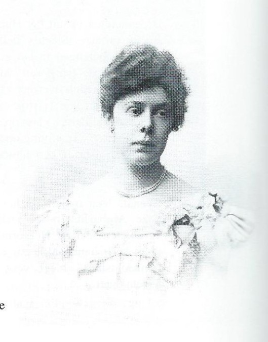 Freule Arnoldine Leonie Willink (1872-1950) op jeugdige leeftijf (foto Ebner, Den Haag)