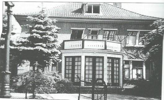 Het huis, genaamd 'Crayenest', Crayenesterlaan 132. Hier verbleven de klassen 3 en 4 van seminarie Hageveld, dat bezet was, tussen 1942 en 1944.