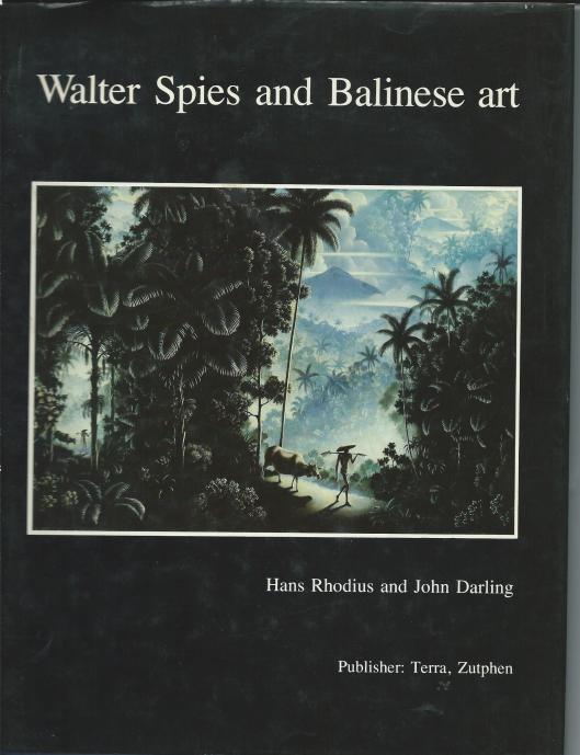 Hans Rhodius was een verzanelaar van het schilderijen van Walter Spies en publiceerde met John Darling twee boeken gewijd aan deze Balinese kunstenaar.