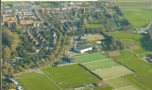 Sportcomplex Groenendaal en deel van sportterreinen