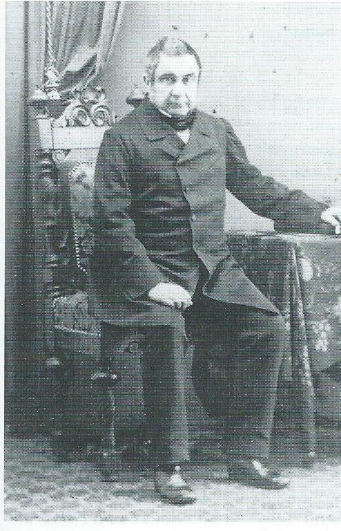 Portret van mr.Aarnoud Hendrik van Wickevoort Crommelin (1797-1881) op latere leeftijd