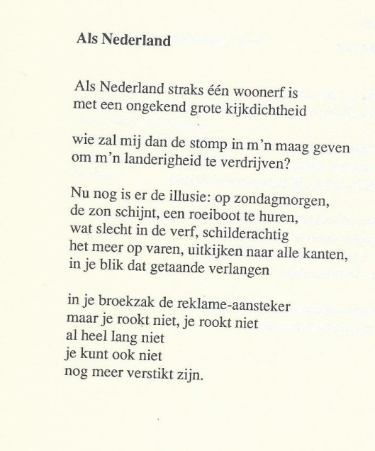 Als Nederland, door Rob Smit