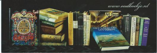 Boekenlegger van www.oudboekje.nl