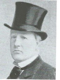 Foto van mr.M.A.Beels, 17 november 1859 overleden in Haarlem en begraven op de begraafplaats van de Kleverlaan