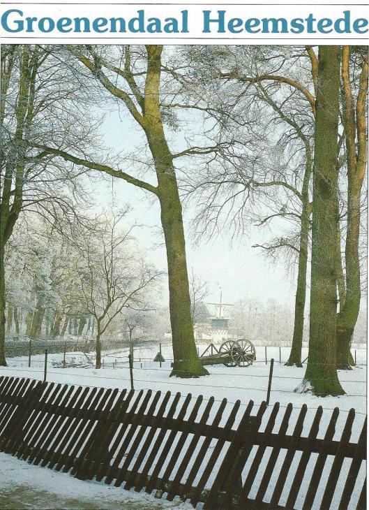 Groenendaal in wintertooi. Uit: Kopperboekje, KVGO, 1985