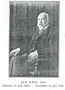 Portret van Jan Krol Kzn. uit: Jaarboekje voor de stad Haarlem voor 1917.